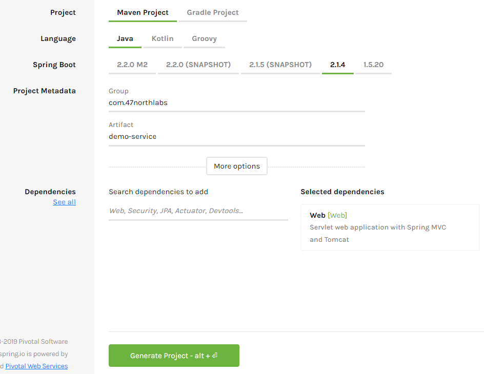 Generate Spring Boot REST API using Swagger/OpenAPI – N47